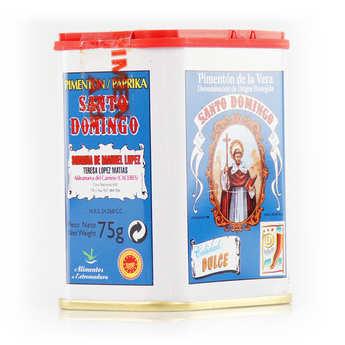 Santo Domingo - Paprika doux espagnol traditionnel - Pimenton de la Vera