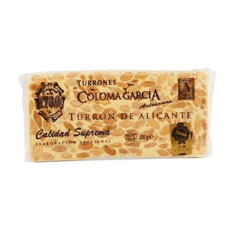 Coloma Garcia Artesanos - Touron artisanal d'Alicante (Turrón de calidad suprema)