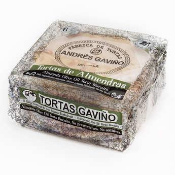 Andres Gavino - Galettes amandes sucrées et huile d'olive - Tortas de Almendras