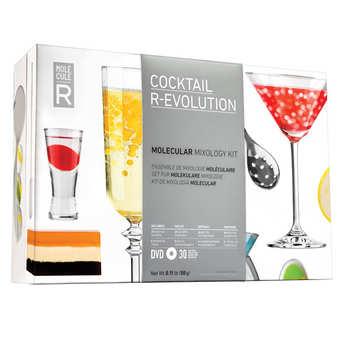 Saveurs MOLÉCULE-R - Kit cocktail moléculaire R-évolution