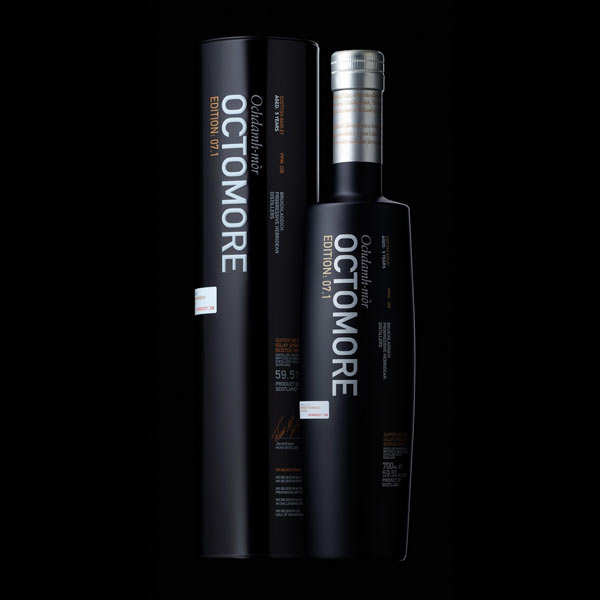 Whisky Octomore Edition 7.1 208 ppm 59,5%