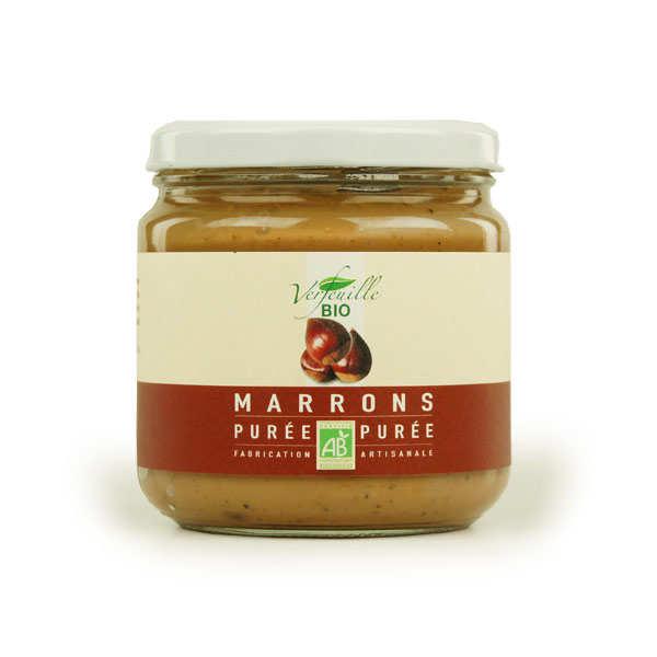 Chestnut purée (organic)