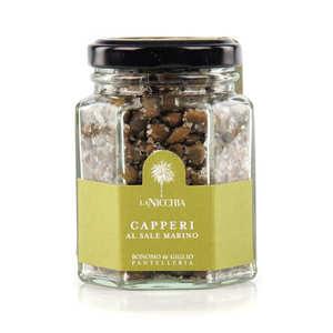 La Nicchia - Italian Capers in Sea Salt - small jar