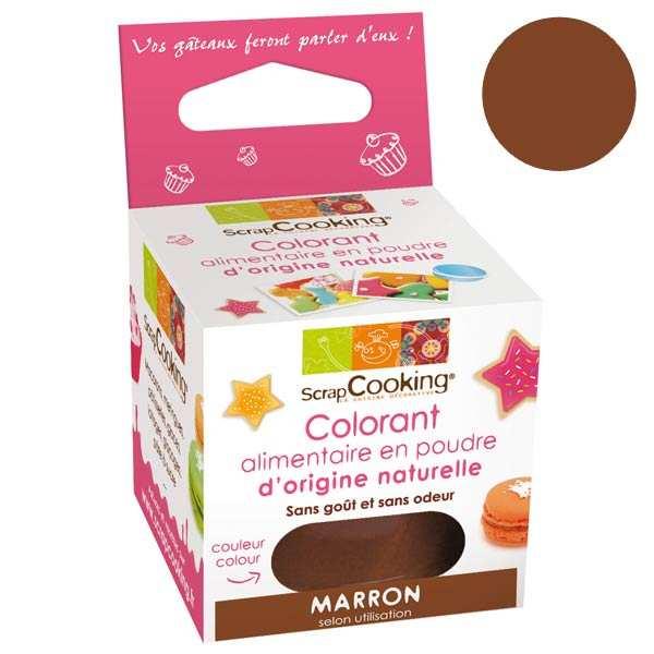Colorant alimentaire origine naturelle - Marron
