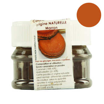 ScrapCooking ® - Colorant alimentaire origine naturelle - Marron