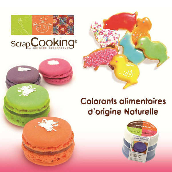 Colorant alimentaire origine naturelle - Marron