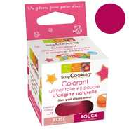 ScrapCooking ® - Colorant alimentaire origine naturelle - Rouge