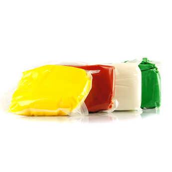 ScrapCooking ® - Pâte à sucre - jaune bouton d'or
