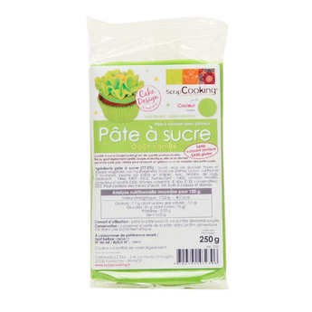 ScrapCooking ® - Green ready-roll icing