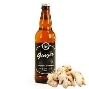Williams Bros Brewing - Ginger Beer - William Brothers. Bière originale au gingembre - 3,8%