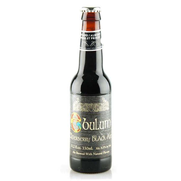 Ebulum Black Ale - Bière brune écossaise aux baies de sureau - 6,5%