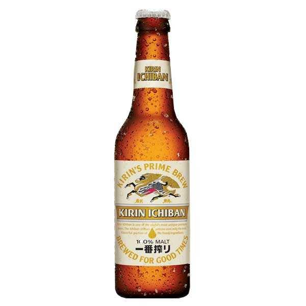 Kirin Ichiban - Japanese Beer - 4,6%