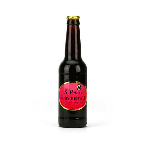 St Peter's Brewery - St Peter's Ruby Red Ale - Bière rousse Anglaise - 4.3%