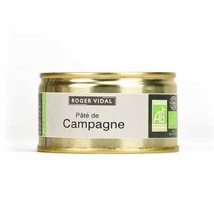 Roger Vidal - Organic country style pâté