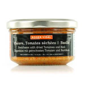 Roger Vidal - Toastine - Chèvre, tomates séchées et basilic
