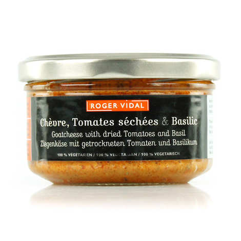Roger Vidal - Goat's Cheese Spread with Dried Tomates & Basil