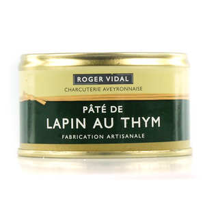 Roger Vidal - Rabbit Pâté with Thyme