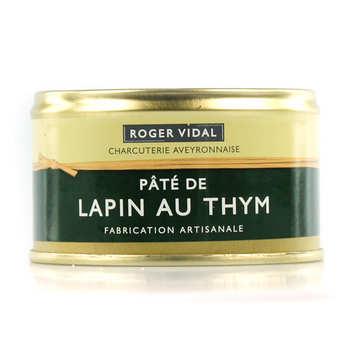 Roger Vidal - Pâté de lapin au thym