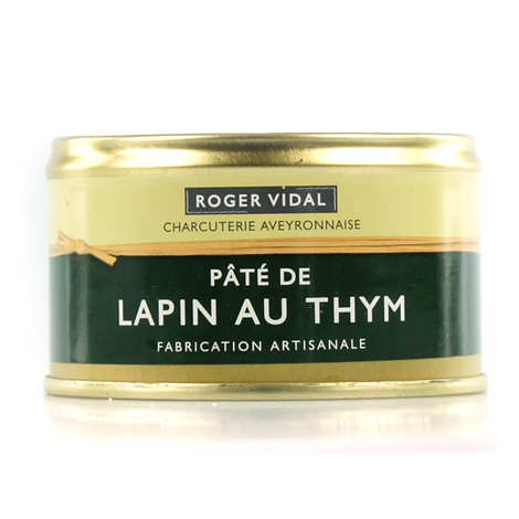 Roger Vidal - Rabbit Pâté with Thyme
