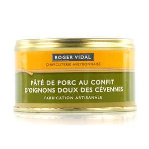 Roger Vidal - Pâté de porc au confit d'oignons doux des Cevennes