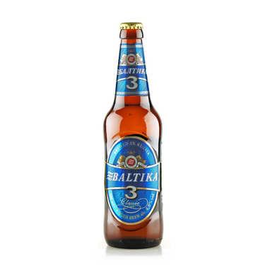 Baltika N°3 Classic - Bière Blonde Russe - 4,8%