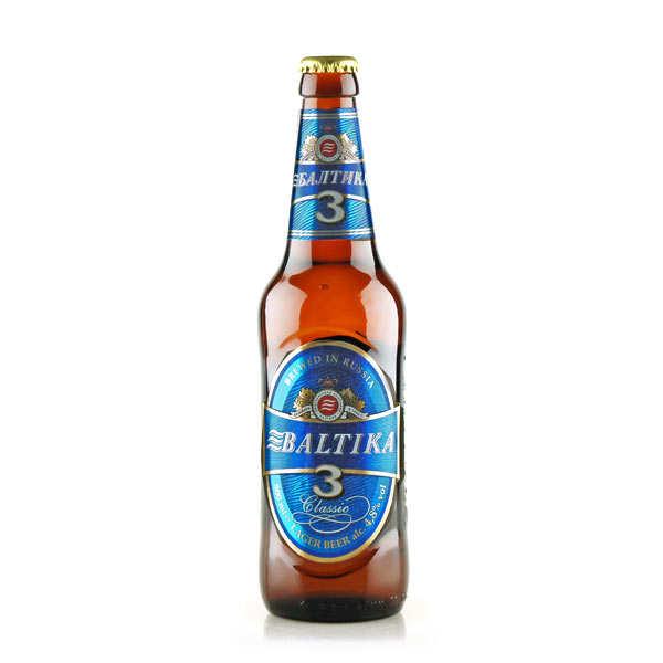 Baltika N°3 Classic - Russian Beer - 4.8%