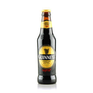 Brasserie Guinness - Guinness Foreign Extra - Bière stout Irlandaise - 7.5%