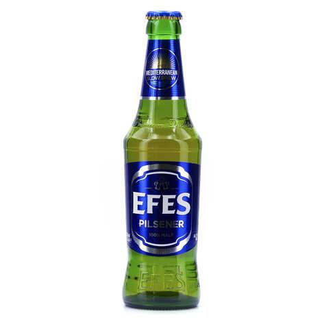 Erciyas Biracilik ve Malt Sanoyi - Efes Pilsen - Bière Blonde de Turquie - 5%
