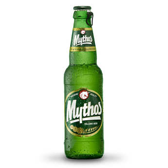 Mythos Breweries - Mythos - Bière Blonde Grecque - 4,7%
