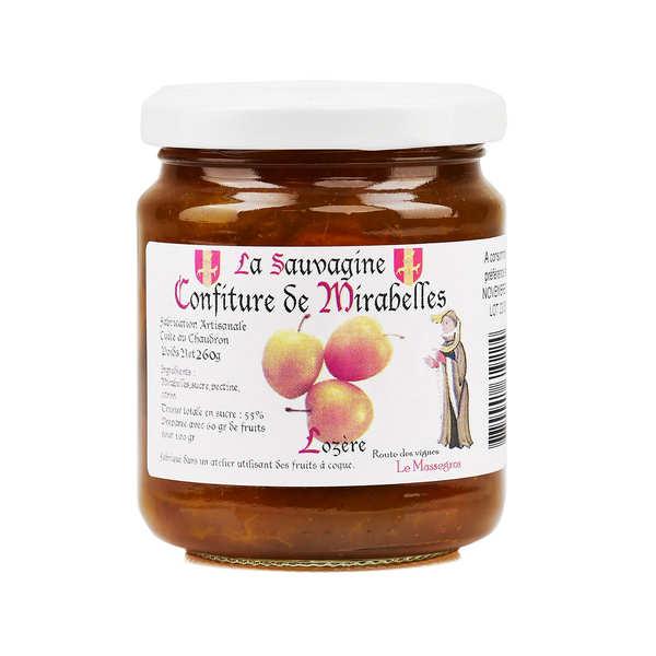 Mirabelle Plum Jam from Lozère