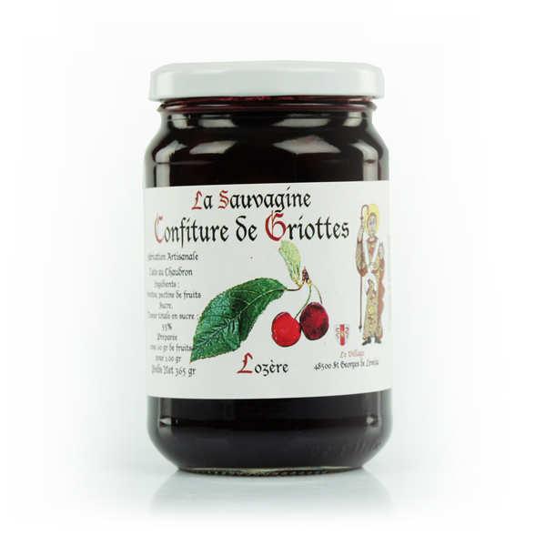 Morello Cherry Jam from Lozère