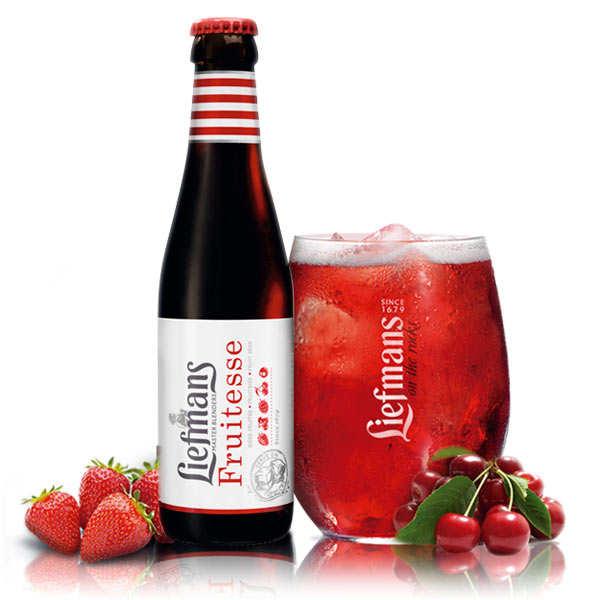 Liefmans Fruitesse - Bière Belge aromatisée aux fruits rouges - 3.8%