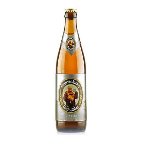 Brasserie Spaten-Franziskaner - Franziskaner Weissbier Kristallklar - Bière blonde allemande - 5%