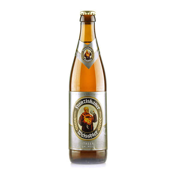 Franziskaner Weissbier Kristallklar - Bière blonde allemande - 5%