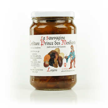 "La Sauvagine - ""Prince of the Beggars"" Mixed Fruit Jam from Lozère"