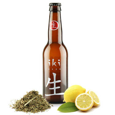 Iki Beer - Bière bio au thé vert et yuzu 4,5%