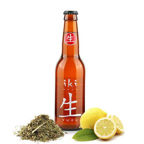 Brasserie iKibeer - Iki Beer - Bière bio au thé vert et yuzu 4,5%