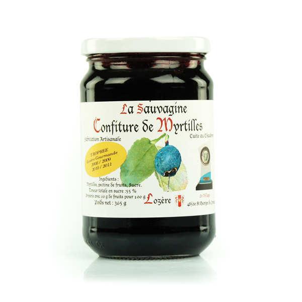 Wild Blueberry Jam from Lozère