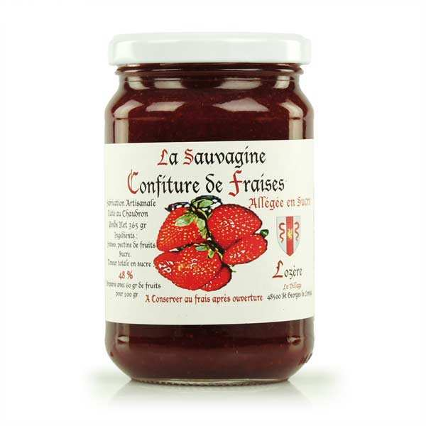 Strawberry Jam from Lozère