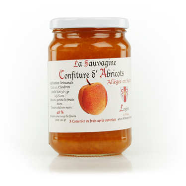 Apricot Jam from Lozère - 325g.