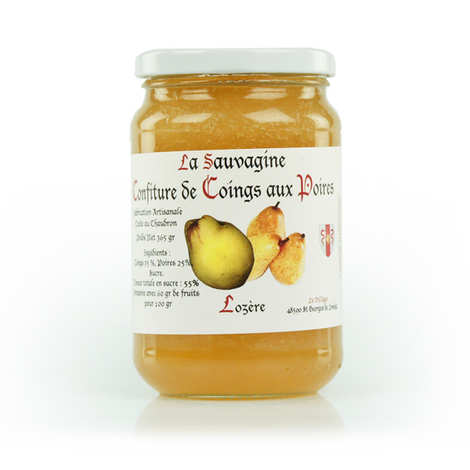 La Sauvagine - Quince and Pear Jam from Lozère