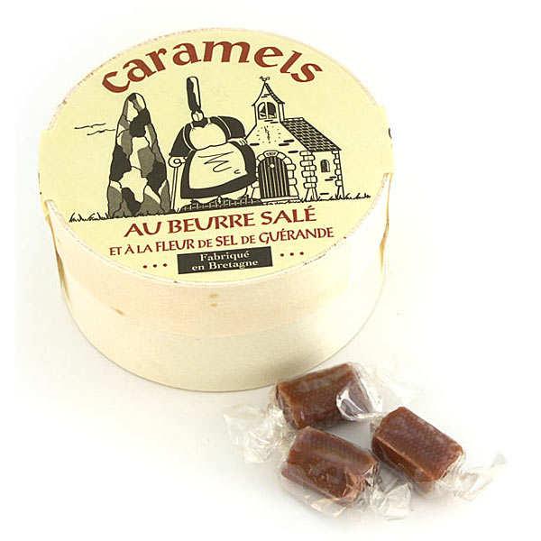 Caramels bretons au beurre salé - Boîte en bois
