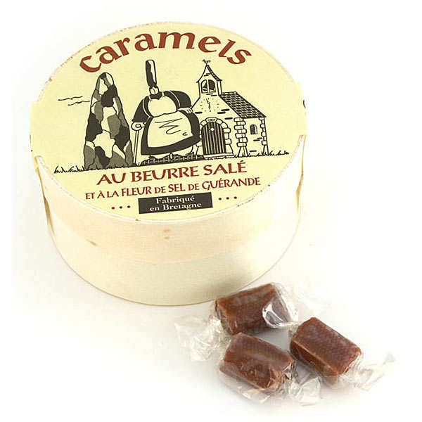 Salted Butter Caramels from Brittany Box - La Maison d'Armorine