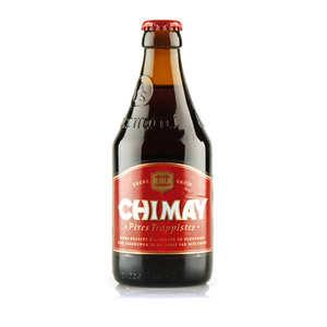 Abbaye ND de Scourmont - Chimay Rouge - Bière Belge Trappiste - Ambrée - 7%