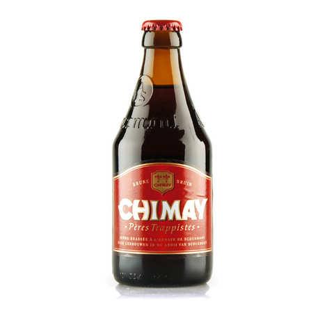 Abbaye ND de Scourmont - Chimay Rouge - Bière Belge Trappiste brune/rousse 7%