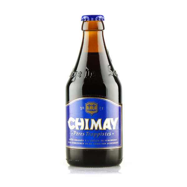 Chimay Bleue - Bière Belge Trappiste - Brune - 9%