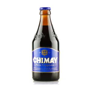 Abbaye ND de Scourmont - Chimay Bleue - Bière Belge Trappiste - Brune - 9%