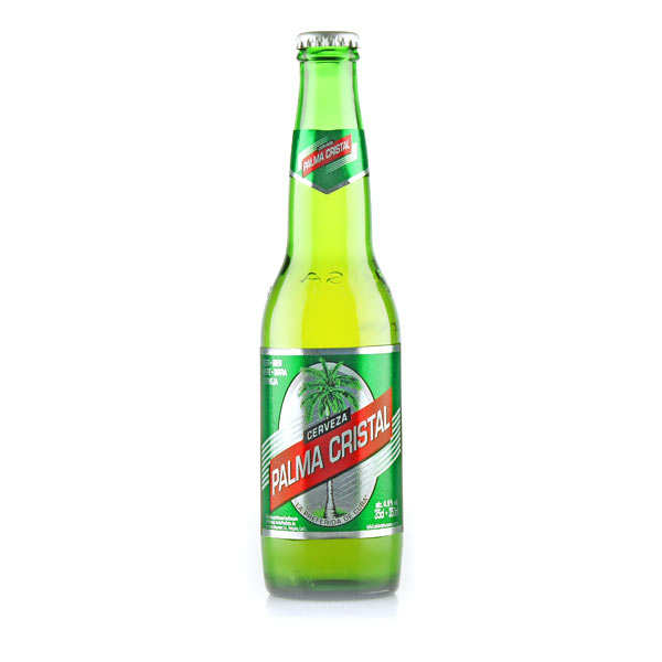 Palma Cristal - Bière Blonde Cubaine - 4,9%