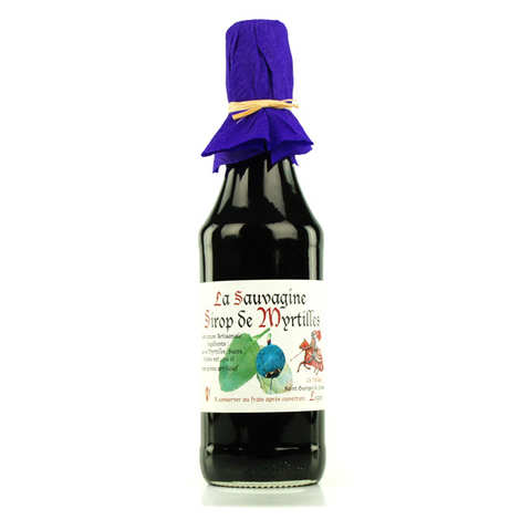 La Sauvagine - Blueberry Syrup from Lozère