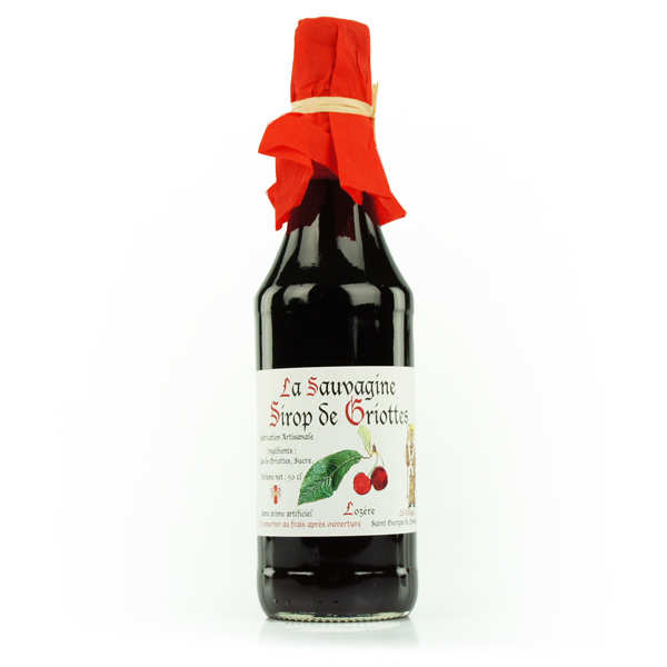 Morello Cherry Syrup from Lozère